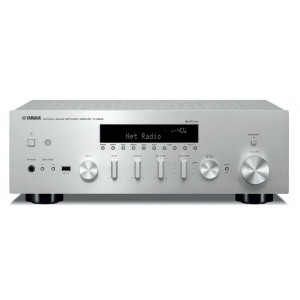 Yamaha R-N602 Network Stereo Receiver MusicCast Bluetooth WiFi Airplay Titanium