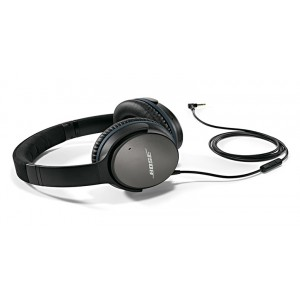 Bose QuietComfort 25 Acoustic Noise Cancelling headphones (QC25) - Black - for Samsung/Android