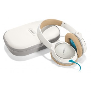 Bose QuietComfort 25 Acoustic Noise Cancelling headphones (QC25) - White - for Apple