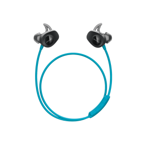 Bose SoundSport wireless headphones NFC Bluetooth Aqua