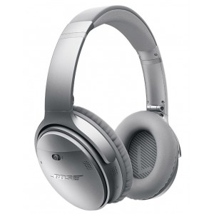 Bose QC35 QuietComfort 35 Noise Cancelling Wireless Headphones - Silver