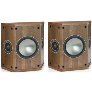 Monitor Audio Bronze FX Speakers (Open Box, Walnut)