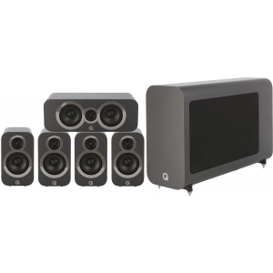 Q Acoustics 3010i 5.1 Cinema Pack Graphite Grey
