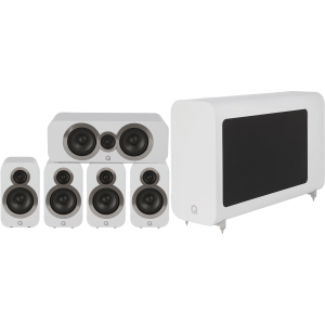 Q Acoustics 3010i 5.1 Cinema Pack Arctic White