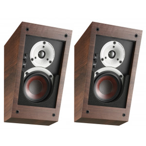 Dali ALTECO C-1 Speakers Dolby Atmos DTS:X Height Speakers Walnut