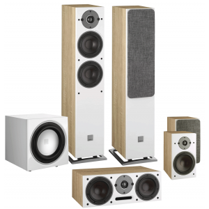 Dali Oberon 5 5.1 Speaker Package Light Oak
