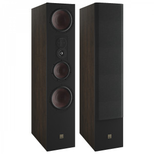 Dali Opticon 8 MK2 Floorstanding Speakers Tobacco Oak