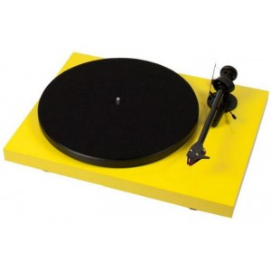 Pro-Ject Debut Carbon Turntable - Yellow