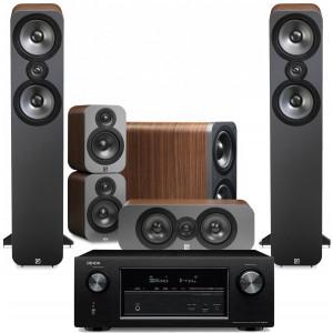Denon AVR-X3300W w/ Q Acoustics 3050 Speakers (5.1)