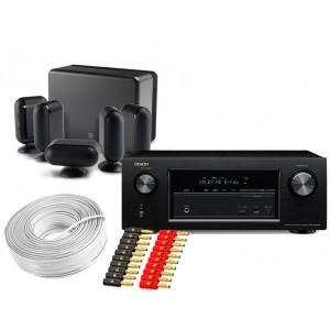 Denon AVR-X2200W w/ Q Acoustics Q7000i Speaker Package 5.1
