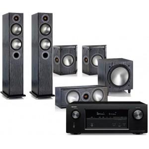 Denon AVR-X3200W w/ Monitor Audio Bronze 5 (5.1)