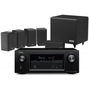 Denon AVR-X2300W AV Receiver w/ Tannoy HTS101 XP Speaker Package 5.1