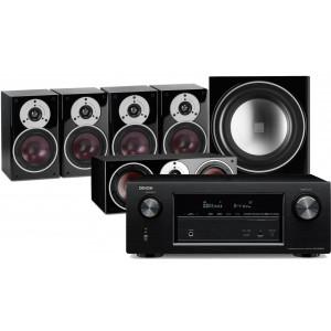 Denon AVR-X2400H AV Receiver w/ Dali Zensor 1 Speaker Package 5.1