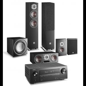 Denon AVR-X2500H AV Receiver w/ Dali Oberon 5 5.1 Speaker Package