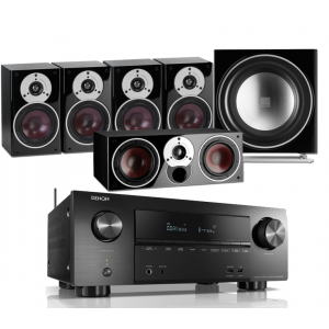 Denon AVR-X2500H AV Receiver w/ Dali Zensor 1 Speaker Package 5.1