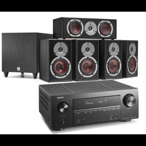 Denon AVR-X2600H AV Receiver w/ Dali Spektor 2 5.1 Speaker Package