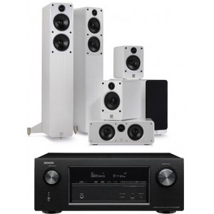 Denon AVR-X3200W w/  Q Acoustics Concept 40 Speakers (5.1)