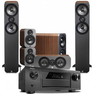 Denon AVR-X4200W w/ Q Acoustics 3050 Speakers (5.1)