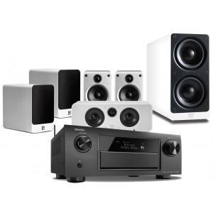 Denon AVR-X6200W w/  Q Acoustics Concept 20 Speakers (5.1)