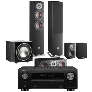 Denon AVC-X3700H AV Receiver w/ Dali Oberon 5 5.1 Speaker Package