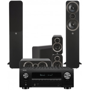 Denon AVC-X3700H AV Receiver w/ Q Acoustics 3050i 5.1 Floorstanding Speakers
