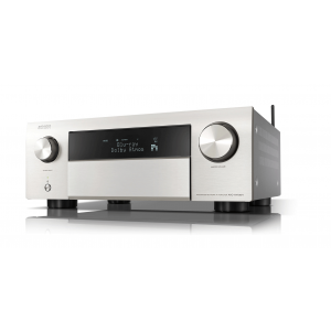 Denon AVC-X4700H Silver 9.2ch 8K AV Amplifier 3D Audio HEOS Built-in Voice Control 4700