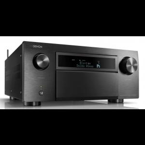 Denon AVC-X8500H 13.2 Channel AV Receiver Black HEOS