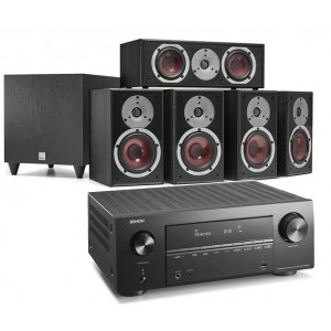 Denon AVR-X2700H AV Receiver w/ Dali Spektor 2 5.1 Speaker Package