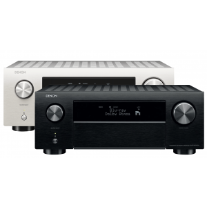 Denon AVC-X4700H 9.2ch 8K AV Amplifier 3D Audio HEOS Built-in Voice Control