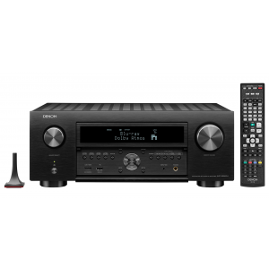 Denon AVC-X6500H AV Receiver Black 11.2 channel HEOS