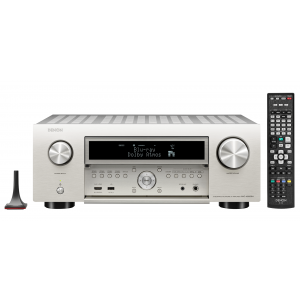 Denon AVC-X6500H AV Receiver Silver 11.2 channel HEOS