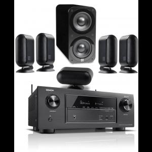 Denon AVR-X3400H AV Receiver w/ Q Acoustics Q7000i PLUS Speaker Package 5.1