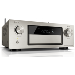 Denon AVR-X4300H AV Receiver 9.2 channel 4K Network HEOS Dolby Atmos DTS:X HDR WiFi - Silver