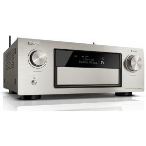 Denon AVR-X4300H AV Receiver 4K HEOS Dolby Atmos DTS:X HDR WiFi Silver