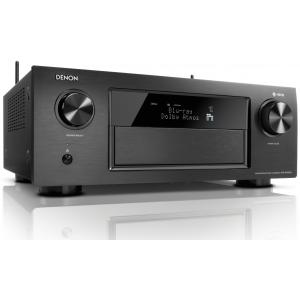 Denon AVR-X4300H AV Receiver 4K HEOS Dolby Atmos DTS:X HDR WiFi Black