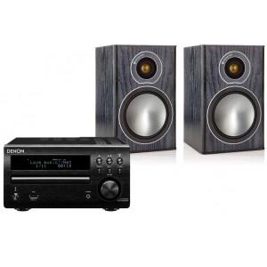 Denon DM40 DAB w/ Monitor Audio Bronze 1 Speakers (RCD-M40)