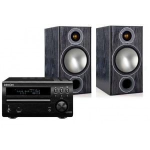 Denon DM40 DAB w/ Monitor Audio Bronze 2 Speakers (RCD-M40)
