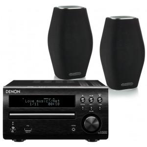 Denon DM40 DAB w/ Monitor Audio MASS Speakers (RCD-M40)