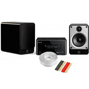 Denon CEOL RCD-N9 w/ Q Acoustics Concept 20 Speakers