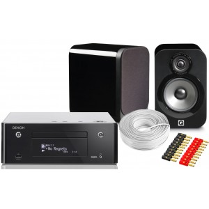Denon CEOL RCD-N9 w/ Q Acoustics 3010 Speakers