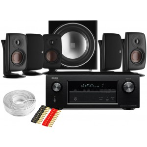 Denon AVR-X2300W AV Receiver w/ Dali Fazon 3 Speaker Package 5.1