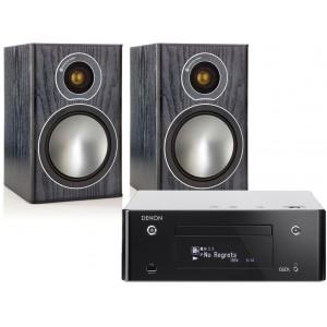 Denon CEOL RCD-N9 w/ Monitor Audio Bronze 1 Speakers