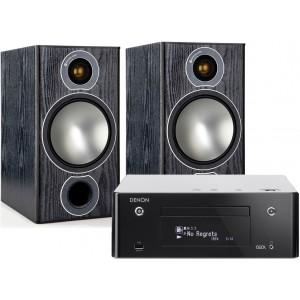 Denon CEOL RCD-N9 w/ Monitor Audio Bronze 2 Speakers