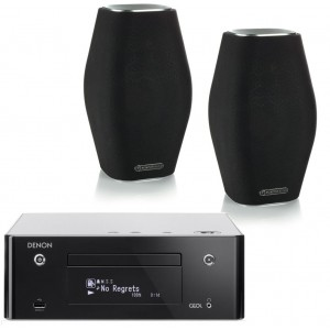 Denon CEOL RCD-N9 w/ Monitor Audio MASS Speakers