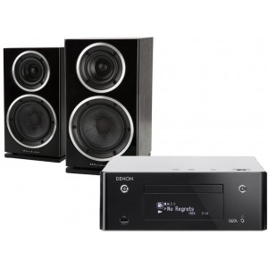 Denon CEOL RCD-N9 w/ Wharfedale Diamond 220 Speakers