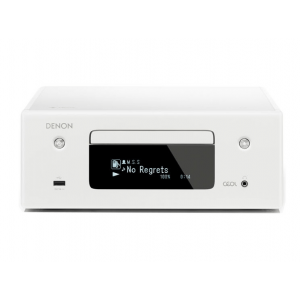 Denon CEOL RCD-N10 Hi-Fi-Network White CD Receiver with HEOS