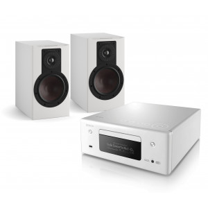 Denon RCD-N11 w/ Dali Opticon 1 MK2 Bookshelf Speakers