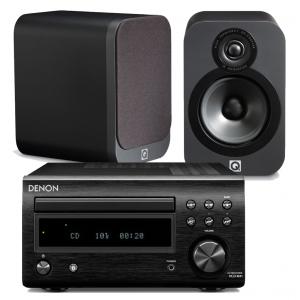 Denon RCD-M41DAB w/ Q Acoustics 3020 Speakers (DM41)