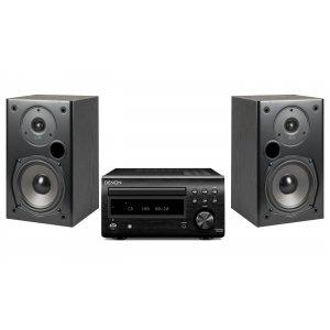 Denon RCD-M41DAB w/ Polk T15 Speakers (DM41)