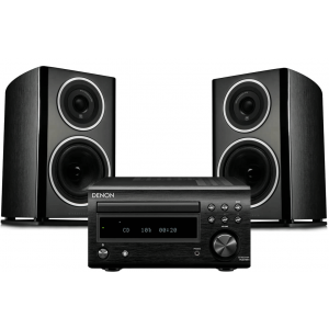 Denon RCD-M41DAB w/ Wharfedale Diamond 11.1 Speakers (DM41)